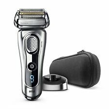 Braun Series 9 Men's Electric Foil Shaver with Charge Station and Travel Case