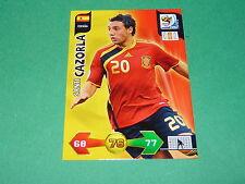 CAZORLA ESPAÑA  PANINI FOOTBALL FIFA WORLD CUP 2010 CARD ADRENALYN XL