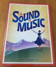 The Sound of Music Theatre Programme New Zealand 2014