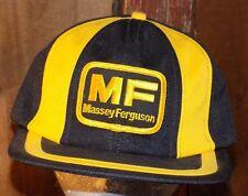 Massey Ferguson Farmer Tractor Patch Snapback Trucker Hat Cap Baseball Vtg