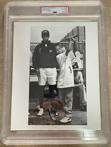 1992 Tiger Woods PSA Type 1 Seattle Times Photo Historic-One Of His Earliest