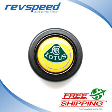 ELETTRO Steering Wheel Horn Button for MOMO OMP With Lotus Logo Emblem