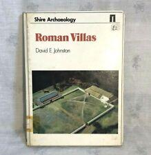 1979 Römische Villen Buch von David E. Johnston Auenland Archäologie