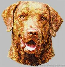 Large Embroidered Zippered Tote - Chesapeake Bay Retriever Dle1507