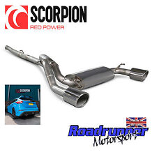 "Scorpion Performance exhaust FOCUS RS MK3 CAT BACK 3"" non RES NON rhabditiforme plus"