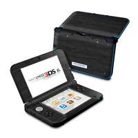 Nintendo 3DS XL Skin - BLACK WOODGRAIN - Decal Sticker