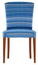 DUE Coprisedie Vestisedie Coprisedia per 2 sedie Harmony Stripe blu
