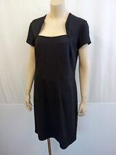 STEFFEN SCHRAUT Kleid Etuikleid Gr.42 Dress eckiger Ausschnitt Schwarz