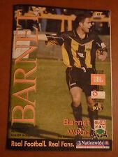 Barnet Teams A-B Football Non-League Fixture Programmes