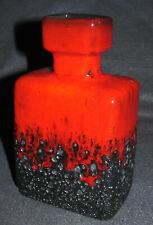 Joschka Keramik Vase Fat Lava Rot