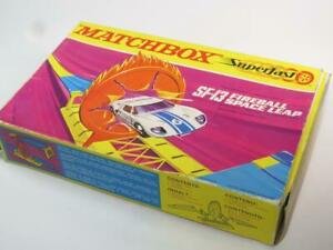 MATCHBOX SUPERFAST TRACK ACCESSORY SF-13 Fireball Space Leap Boxed 1971