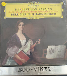 DG VINYL RECORD Herbert von Karajan - Brandenburgische Konzerte Nr. 1, 2 & 3