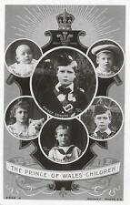 Royal Figure-Children Posted Collectable Royalty Postcards