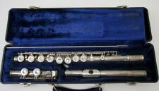 Artley 18-0 Silver Plated Flute, Very Good Condition