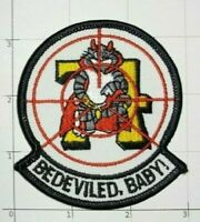 Bedeviled Baby Patch VF-74 F-14 Tomcat USN Fighter Squadron Veteran