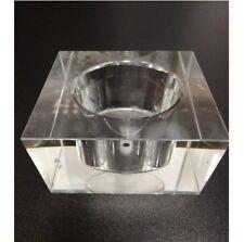 eckiges Glasschirm Glasersatz Lampenglas G4