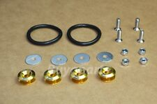 JDM GOLD ALUMINUM BUMPER QUICK RELEASE FASTENER KIT for Scion TC XB XA FR-S BRZ