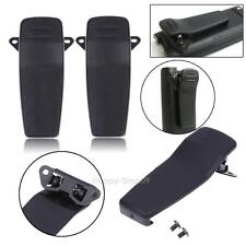 2pcs Back Belt Clip for ICOM IC-V85 E M87 M88 F50 F60 R20 Walkie Talkie Radio