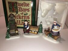 "Dept 56 ""Three French Hens� Iii Twelve Days Heritage Village Collection"
