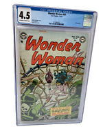 Wonder Woman # 60 DC 1953 Golden Age Comic Book Certified CGC 4.5