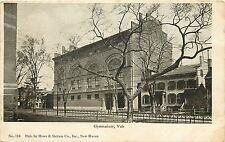 1901-1907 Vintage Postcard; Gymnasium, Yale University, New Haven Ct, Posted