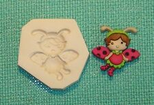 Baby Girl Lady Bug Pixie Fairy Polymer Clay Mold CUTE! 0 S/H AFTER 1st item #3