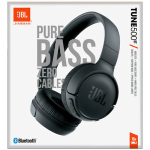 JBL Tune 500BT Wireless Bluetooth On-Ear Headphones w/Built-In Microphone Black