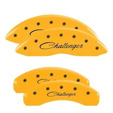 MGP Yellow Caliper Covers for 06-20 Dodge Challenger R/T & Charger SRT8 & Magnum