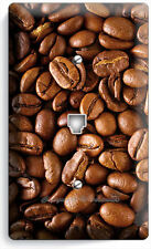DARK ROAST COFFEE HOUSE BEANS PHONE JACK TELEPHONE WALL PLATE COVER KITCHEN ART