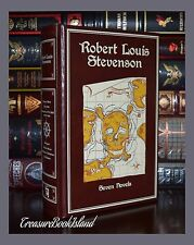 Robert Louis Stevenson 7 Novels Jekyll Treasure New Leather Bound Collectible