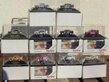 Herpa la raccolta 1:87 h0, 10 pezzi auto + DTM auto da corsa in box, molto bene la raccolta 13
