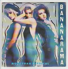 "BANANARAMA Vinyle 45 tours SP 7"" MORE THAN PHYSICAL - LONDON 886 080 Stereo"