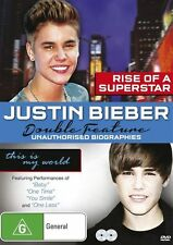 Justin Bieber -Rise Of A Superstar ~Unauthorised Story/This Is My World (2 Disc)