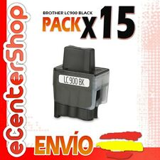 15 Cartuchos de Tinta Negra LC900 NON-OEM Brother DCP-115C / DCP115C