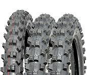 "BLACKROCK Motocross Dirt Bike Tyre Deal 50 CC - 1x 12"" Front & 1x 10"" Rear 50cc"