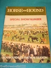 HORSE and HOUND - SPECIAL SHOW NUMBER - MARCH 12 1978