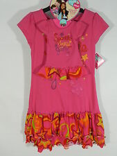 "What A Doll Matching Dress Set Pink Sparkle Dazzle Glitter Fits 18"" doll 4/5 New"