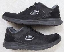 Skechers Lightweight Athletic Running Shoes 10.5 Ten 1/2 Men's Black Memory Foam