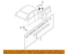 NISSAN OEM Exterior-Cab-Drip Molding Clip 73858AA000