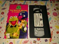 Sesame Street - The Best of Kermit the Frog (Vhs, 1998) Vg