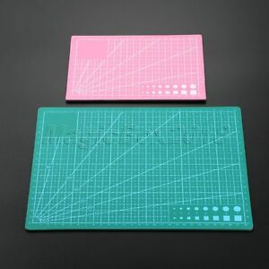 A4 A5 Cutting Mat Pad Craft Quilting Grid Lines Printed Board PVC Self Healing