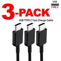 3X Cable Cargador tipo C Cable de datos para Samsung Galaxy  S8 S9 S10 Plus LOT