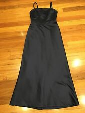 MR K Dress Size 10 Formal Wedding As New Made In Australia Dark Blue Rrp $220