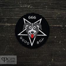 Patch Mr.Pickles Good Boy 666 logo black metal