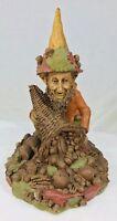 "Tom Clark Gnome Plenty with Cornucopia #33 Edition #69 Cairn Studio 8.25"""