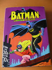 Batman From the 30's to the 70's - Hardcover - Signed 1st Edition - VF