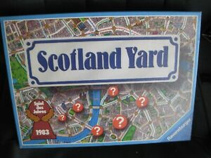 Vintage 'SCOTLAND YARD '  game 1983 Very rare .........Ravensburger