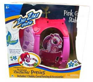 Pony Stable Playset Toy Pink Retail Boxed NEW