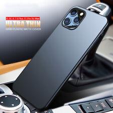Para iPhone SE 2020 11 Pro Max 8 7 0.2mm XS Xr X Ultra Delgada Mate Rígida Cubierta