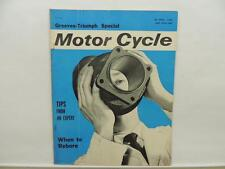 April 1964 The Motorcycle Magazine Greeves Triumph Lambretta BMW L10893